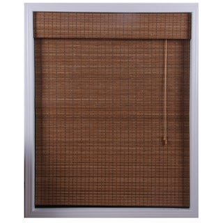 Ginger Bamboo Roman Shade (33 in. x 98 in.)