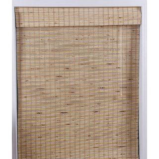 Mandalin Bamboo Roman Shade (69 in. x 74 in.)