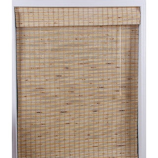 Mandalin Bamboo Roman Shade (32 in. x 98 in.)