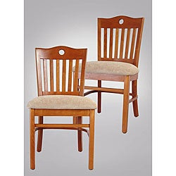 Peek-a-boo Cherry Rachel Side Chair (Set of 2)