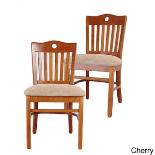Peek-a-boo Cherry Rachel Side Chair (Set of 2)