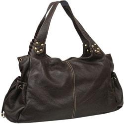 Amerileather Drawstring Leather Bag