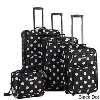 Rockland 4-piece Expandable Luggage Set