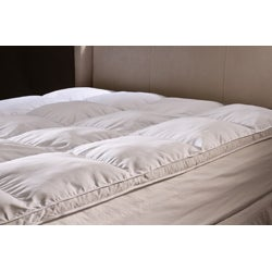 All Season Down Alternative Hypoallergenic White Mattress Topper