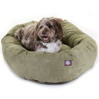 "52"" Faux Suede Extra Large Dog Bed"