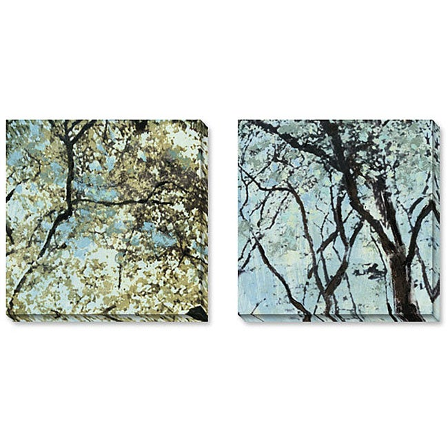 Gallery Direct Sara Abbott 'City Park' Gallery Wrapped Art Set
