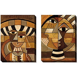 Caroline Ashton 'Persona' Gallery-wrapped Art Set