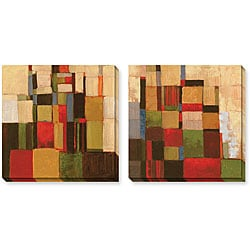 Gallery Direct Cecile Broz 'Flow' Gallery-wrapped Art Set