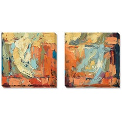 Gallery Direct Price 'Poetry in Motion' Gallery-wrapped Art Set