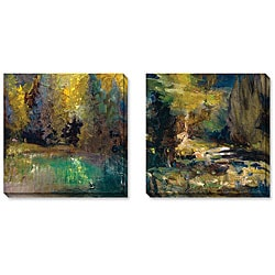 Gallery Direct Sylvia Angeli 'A Walk in the Woods' Art Set