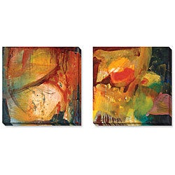 Angeli 'Eccentric Abstraction' Wrapped Art Set