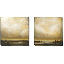 St. John 'Partly Cloudy' Gallery-wrapped Art Set