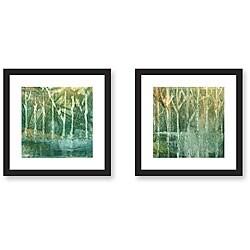 Ashton 'Imposed Environment' 2-piece Framed Art Set