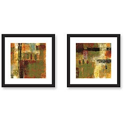 Benjamin Deal 'Juxtapose' 2-piece Framed Art Set