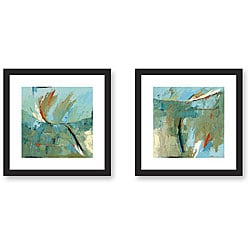 Maxine Price 'Early Dawn Comes Waking' 2-piece Framed Art Set