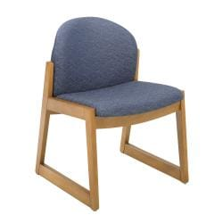 Safco Urbane Armless Wood Visitor Chair