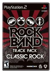 PS2 - Rock Band Track Pack Classic Rock