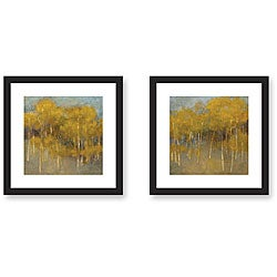 Kim Coulter 'At Ease' 2-piece Framed Art Print Set