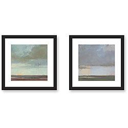 Kim Coulter 'Sky' 2-piece Framed Art Print Set