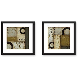 DeRosier 'Reunion' Framed Art Print Set