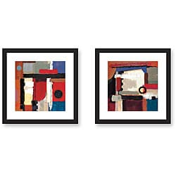 Jensen 'Birth of Success' 2-piece Framed Art Print Set
