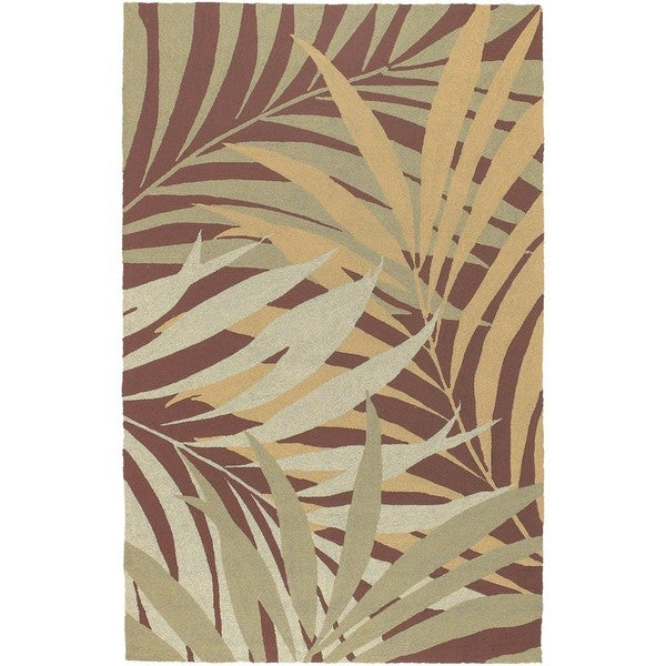 Tropic Collection Outdoor/ Indoor Area Rug (5' x 8')
