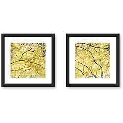 Sara Abbott 'City Park' Framed Art Print Set