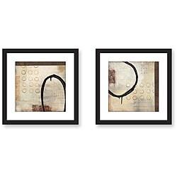 Sean Jacobs 'Third Dimension' Framed Art Print Set