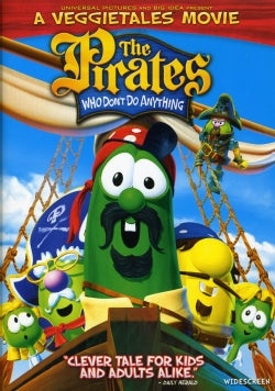 The Pirates Who Don't Do Anything: A Veggie Tales Movie (DVD)