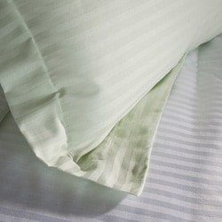 Egyptian Cotton 300 Thread Count Striped 3-piece Duvet Set