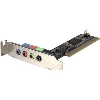 StarTech.com 4 Channel Low Profile PCI Sound Adapter Card AC97 3D Aud