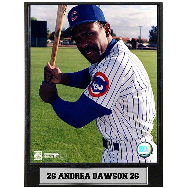 Andre Dawson 9x12 photo plaque