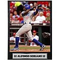 Alfonso Soriano 9x12 Baseball Photo Plaque