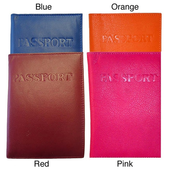 Kozmic Multiple Pocket Leather Passport Cover