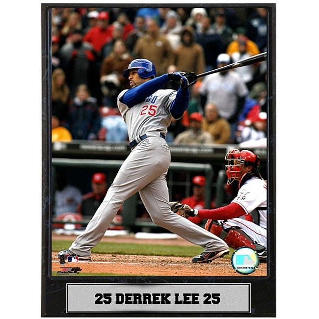 Derrek Lee 9x12 Baseball Photo Plaque
