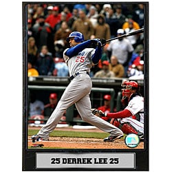 Derrek Lee 9x12 Baseball Photo Plaque