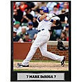 Mark DeRosa 9x12 Baseball Photo Plaque