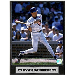 Ryne Sandberg 9x12 Baseball Photo Plaque