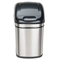 Stainless Steel Motion Sensor 6.3-gallon Trash Can
