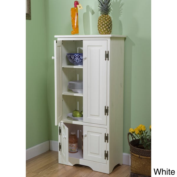 Tall Kitchen Storage Units: Simple Living Tall Cabinet