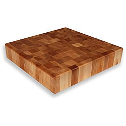 Maple End Grain 18-inch Square Chopping Block