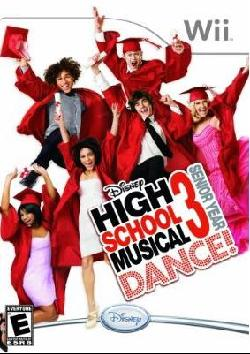 Wii - High School Musical 3: Senior Year Dance