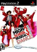 PS2 - High School Musical 3: Senior Year Dance (Dance Pad Bundle)