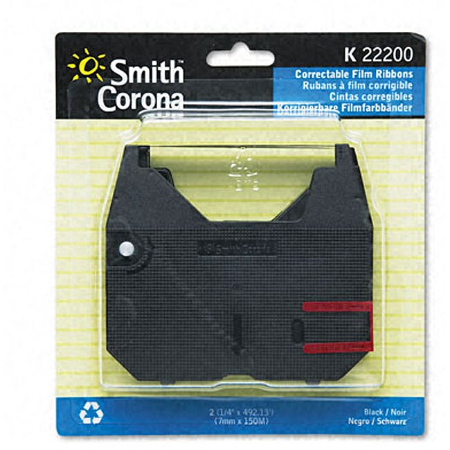 Smith Corona K Series Typewriter Film Ribbons (2 Pack)