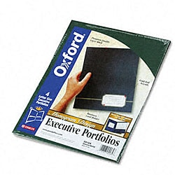 Monogram Series Two-Pocket Executive Business Portfolios (Pack of 4)
