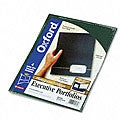 Monogram Series Two-Pocket Executive Business Portfolios (Pack of 4)