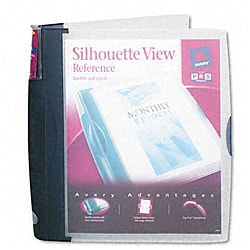 Avery Silhouette View 1-inch Poly Reference Binder