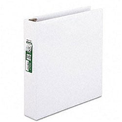 Samsill Antimicrobial 1.5-inch Round Ring View Binder