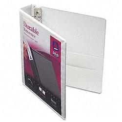 Avery Durable 1.5-Inch White Vinyl View Binder