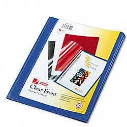 ACCO Clear Front Plastic Report Covers (Pack of Ten)